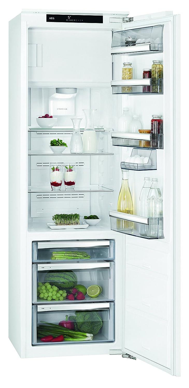 AEG SFE81826ZC Einbaukühlschrank mit Gefrierfach / 155 l Kühlschrank ...