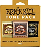 Ernie Ball 3314 Acoustic Guitar String Tone Pack, Light