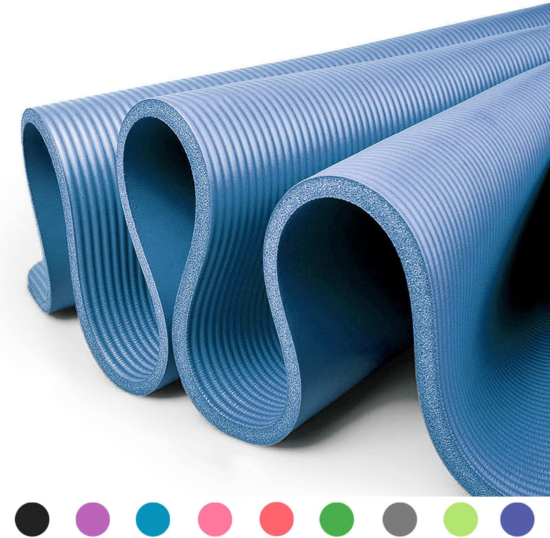 Fitem Fitnessmatten Sport MMA f/ür Gym Gymnastik Fitness Pilates faltbar Muskeltraining mit Transportgriffen Ma/ße 240/x 120/x 4/cm oder 180/x 60/x 4/cm Yoga dick