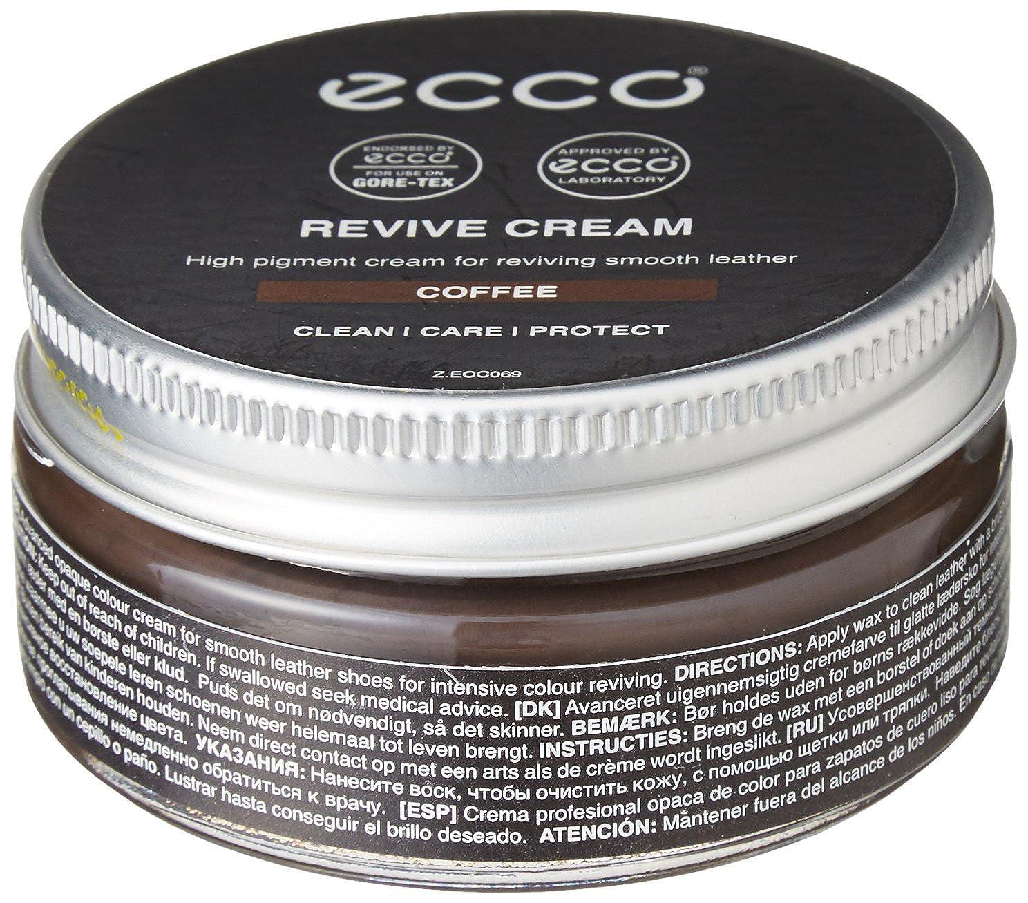 Ecco Revive Cream - Producto de reparación de zapatos, color Café, 50 ml 9034014