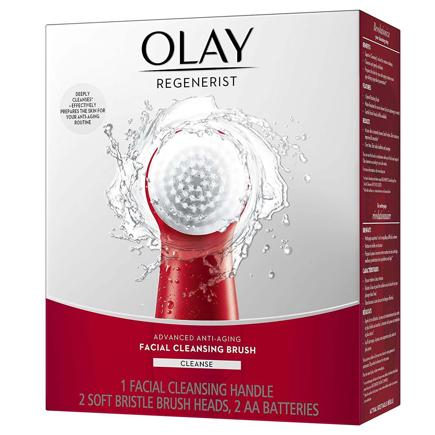 Amazon Com Facial Cleansing Brush By Olay Regenerist Face
