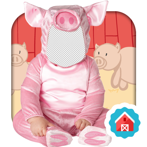 Baby Farm Animals Photo (Countries Costumes Fancy Dress)