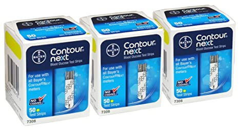 Bayer Contour Next, 150 Strips by Contour Next