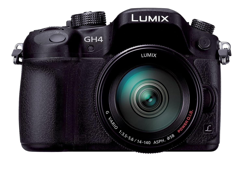 パナソニック ミラーレス一眼カメラ ルミックス GH4 レンズキット 標準ズームレンズ付属 ブラック DMC-GH4H-K 通常品  B00J8H7H8E