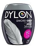 DYLON Machine Dye Pod, Smoke Grey, easy-to-use fabric colour for laundry, 350g