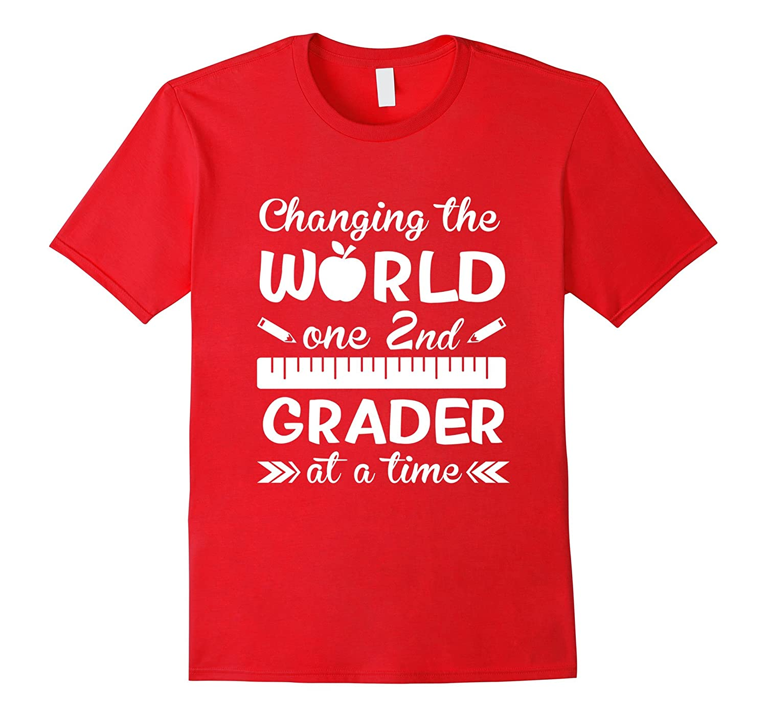2nd-Second-Grade Teacher Shirt-Best Teacher Gifts-Art