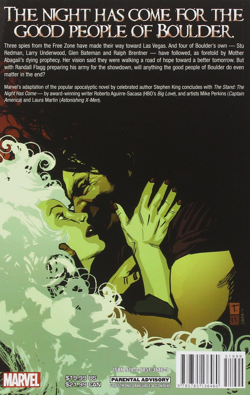 The Stand  Volume 6: The Night Hase: Stephen King, Roberto  Aguirresacasa, Mike Perkins: 9780785136460: Amazon: Books