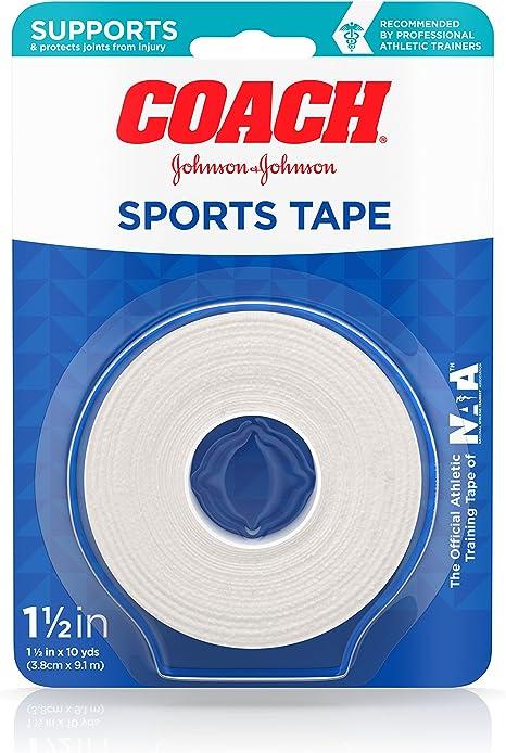Johnson and Johnson Coach Sports Tape