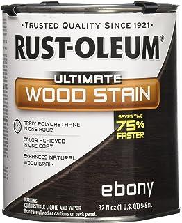 RUST OLEUM 271108 Quart Ebony Interior Wood Stain