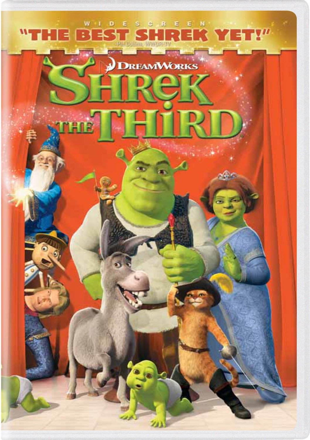 Amazon Com Shrek The Third Widescreen Edition Eddie Murphy Justin Timberlake Antonio Banderas Cameron Diaz Mike Myers Movies Tv