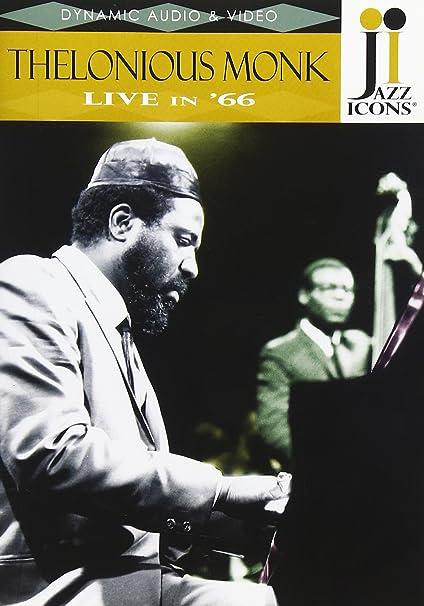 Amazon com: Jazz Icons: Thelonious Monk Live in '66: Thelonious Monk