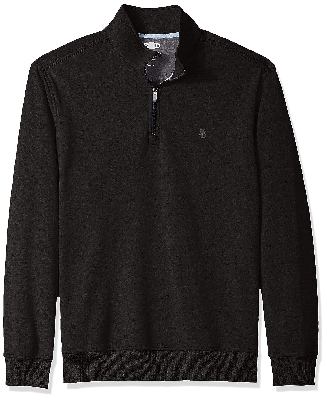 IZOD Mens Advantage Performance Quarter Zip Fleece Pullover