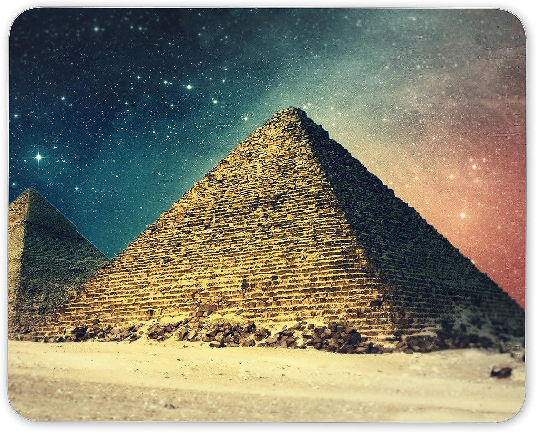 Alfombrilla de ratón con diseño de pirámides de Galaxia – Giza Egipto Espacio Egipcio Regalo Ordenador #8909: Amazon.es: Electrónica