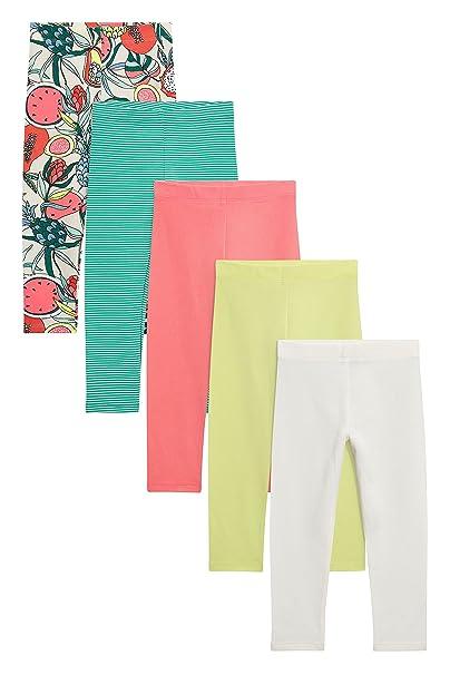 next Niñas Pack De Cinco Leggings Llamativos (3 Meses - 6 Años) Multicolor 5