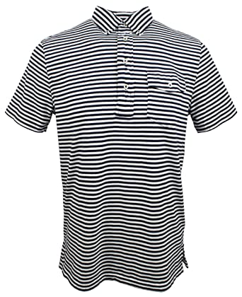 Polo Ralph Lauren Men\u0027s Classic Fit Short Sleeve Striped Polo Shirt-WN-S