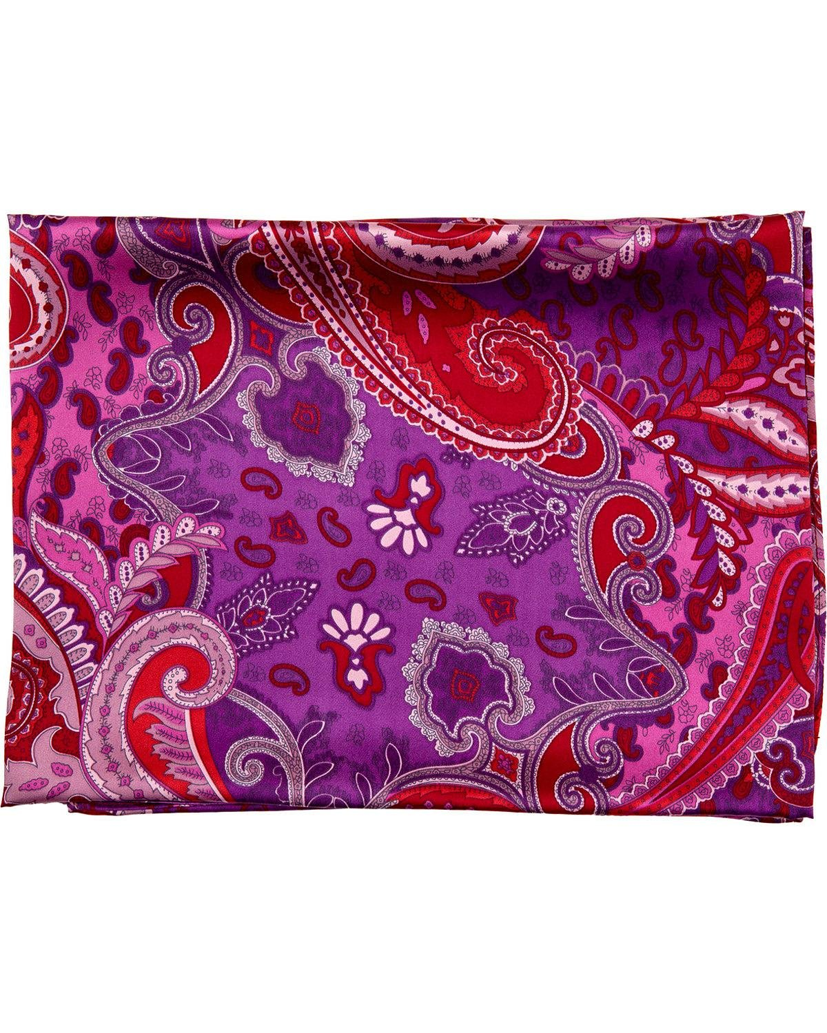 Schaefer Outfitter Men's Paisley Wild Rag Purple One Size