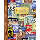 Road Trip Planner: Vacation Planner & Travel Journal / Diary for 4 Trips, with Checklists, Itinerary & more [ Softback * Larg