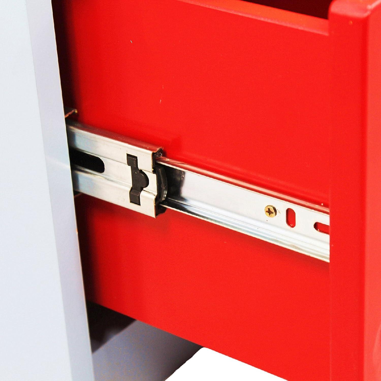 Table de chevet de nuit bois 2 tiroirs meuble rangement chambre enfant TD-0100A