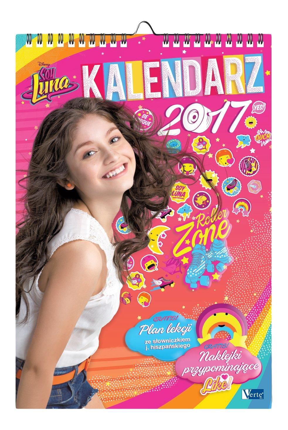 Kalendarz 2017 13 Planszowy Soy Luna: Amazon.es: Libros en ...