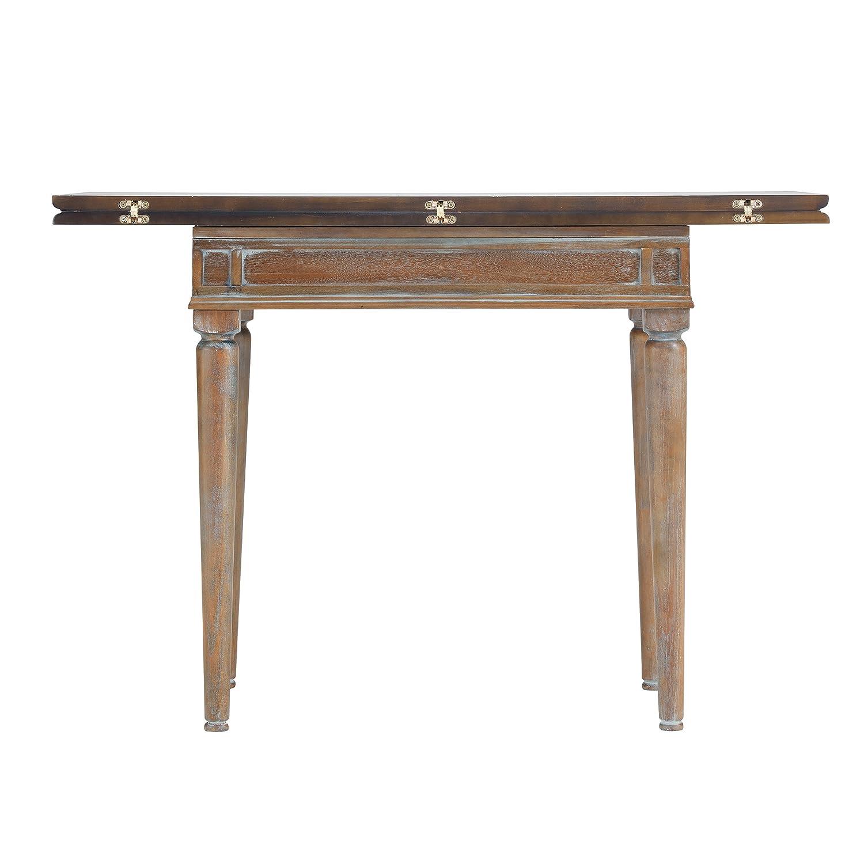 Amazon Com Furniture Hotspot Convertible Dining Table Burnt Oak