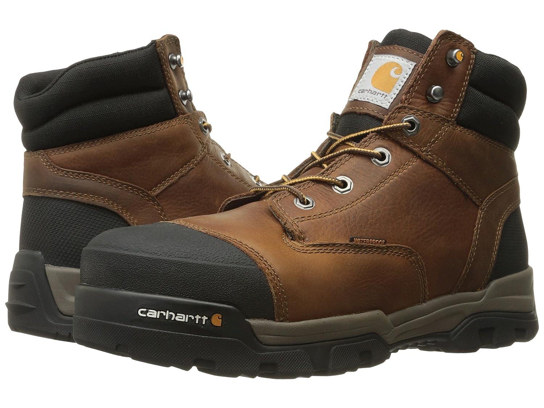 [カーハート] Carhartt メンズ 6 Ground Force Waterproof Composite Toe Work Boot アンクルブーツ [並行輸入品] B075RCD63Q 28.5 cm D|Brown Oil Tanned Leather Brown Oil Tanned Leather 28.5 cm D