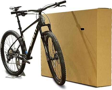 Caja de cartón para bicicleta; caja de bicicleta para empaquetar y transportar: Amazon.es: Deportes y aire libre