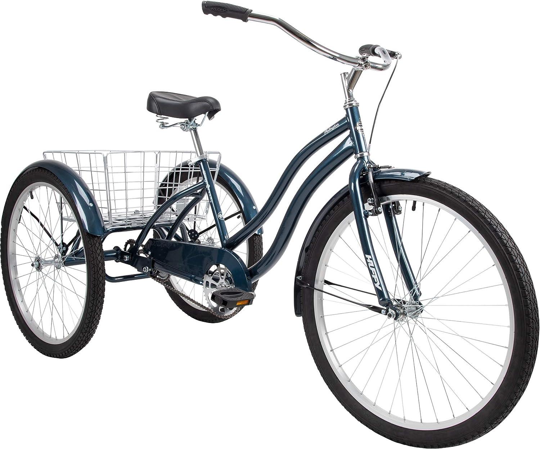 """Huffy Arlington 26"""" Adult Trike, Large, Blue"""