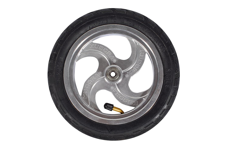 Hudora 14005 Big Wheel Air 205 - Patinete, color plateado