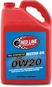 Red Line 11805 0W20 Motor Oil, 1 Gallon, 1 Pack