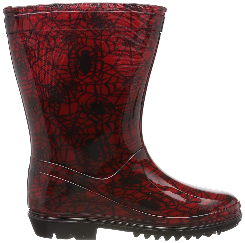 Junior Boys Wellington Boot Spiderman Wellies Size 7 8 9 10 11 12 3 1 Infant 8 UK Child, Spiderman Newley