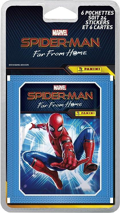 PANINI SPIDER-MAN Far from Home Sticker 5 pochettes