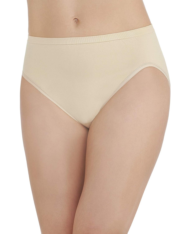 5c1cb1051362 Vanity Fair Women's Seamless Strata Hi Cut Panty 13211: Amazon.co.uk:  Clothing