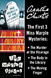 Miss Marple Bundle: The Murder at the Vicarage, The Body in the Library, and The Moving Finger (Miss Marple Mysteries)
