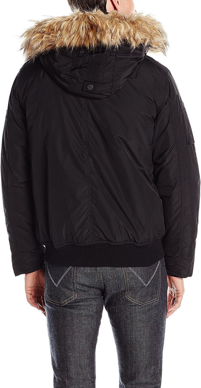 Ben Sherman Mens Nylon Bomber Jacket