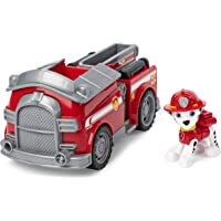 PAW Patrol Marshall's Fire Engine Vehicle with Collectible Figure, for Kids Aged 3 Years and Over