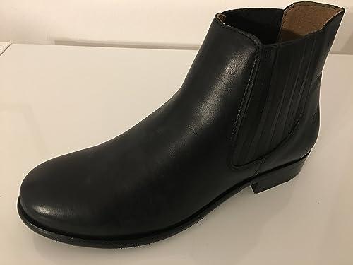 the latest fb723 e670d Apple of Eden Chelsea-Boots Phoebe all black (42): Amazon.de ...