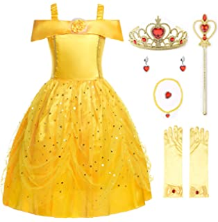 Amazon.com: Disfraz clásico de Bella, Disney ...