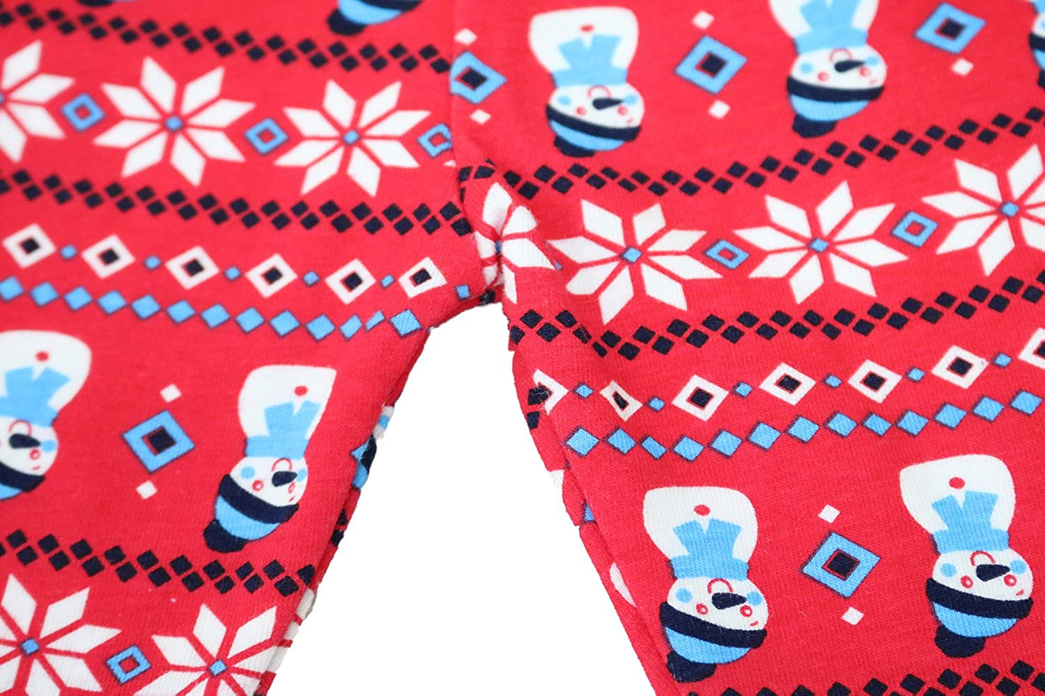 Little Q Toddler Girls Cotton Christmas Long Trousers Baby Autumn Christmas Pants