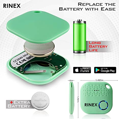 Amazon.com: Rinex - Localizador de llaves con Bluetooth ...