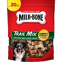 Milk-Bone Trail Mix Chewy & Crunchy Dog Treats, Beef & Sweet Potato