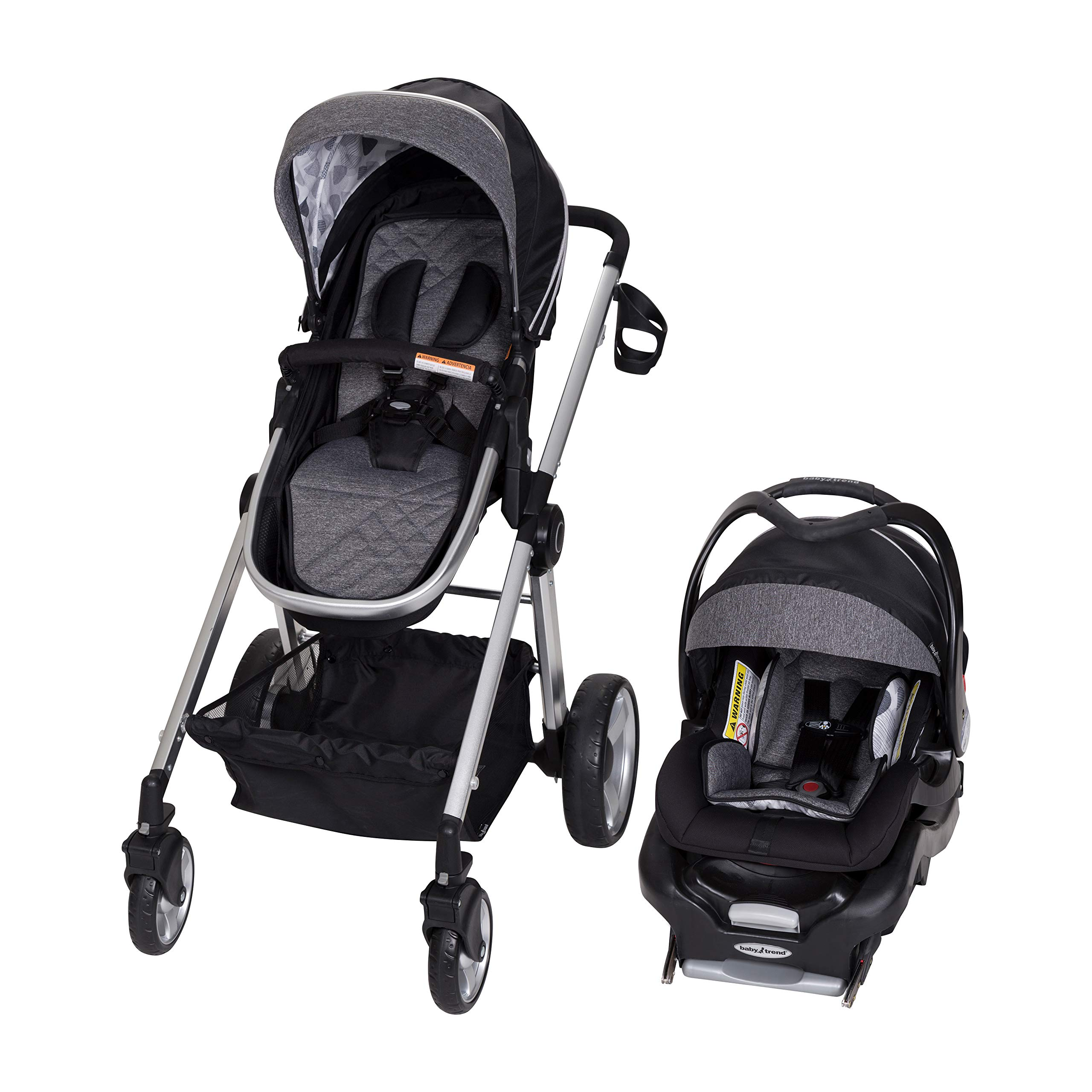 Baby Trend Go Lite Snap Fit Sprout Travel System, Drip Drop Blue by Baby Trend