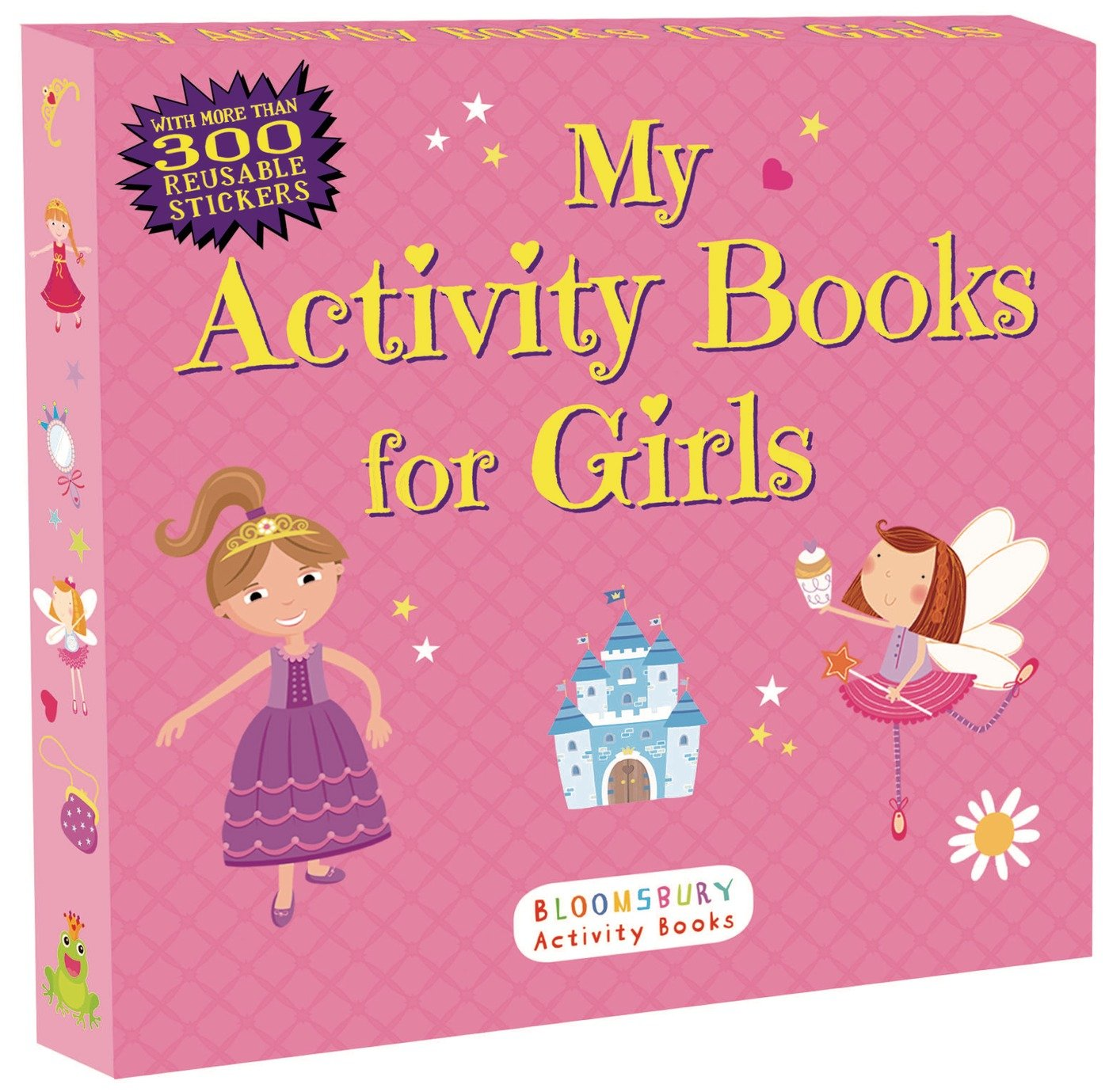 my activity books for girls sticker activity books anonymous