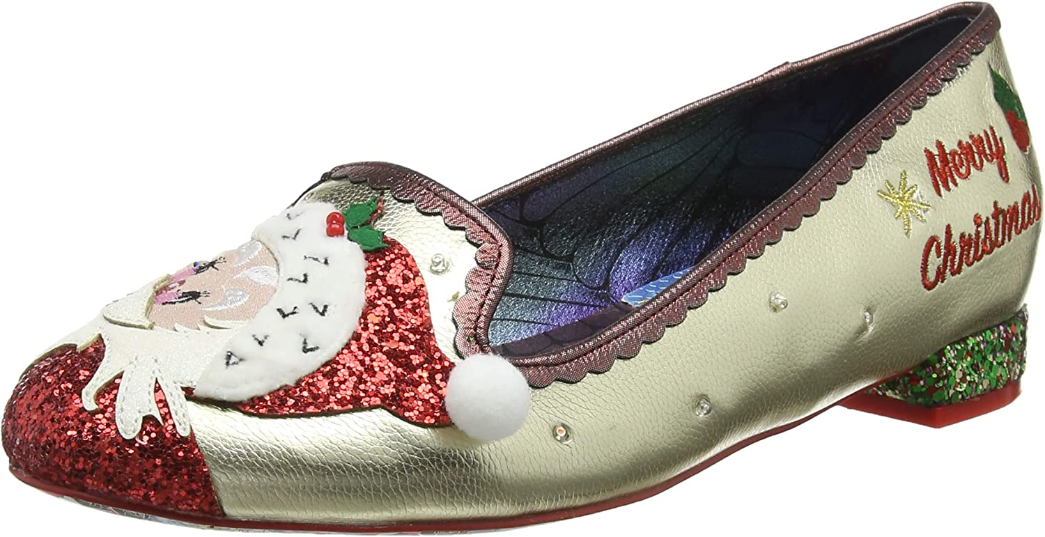 The Clauses Closed Toe Ballet Flats