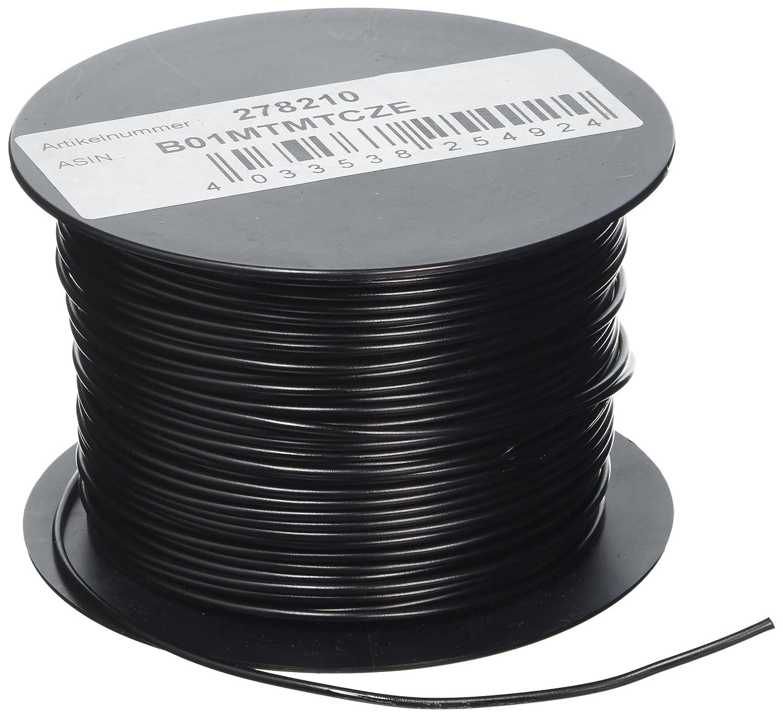 VS Electronic 278210 Litze LiYv Spule, 0.75 mm² , 100 m, Schwarz VS Electronic Vertriebs GmbH