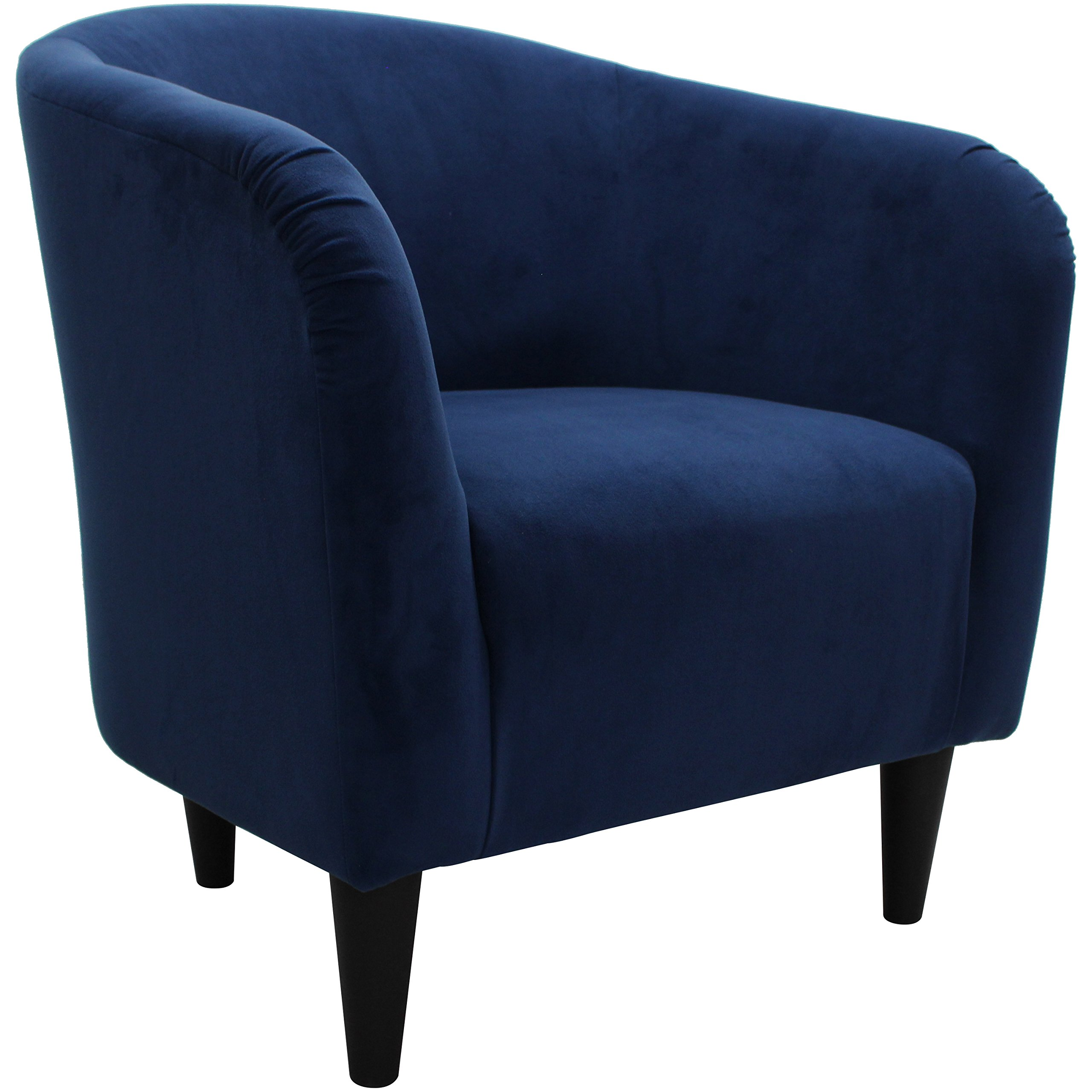 Mainstays Microfiber Tub Accent Chair (Navy Blue) by Mainstay (Image #2)
