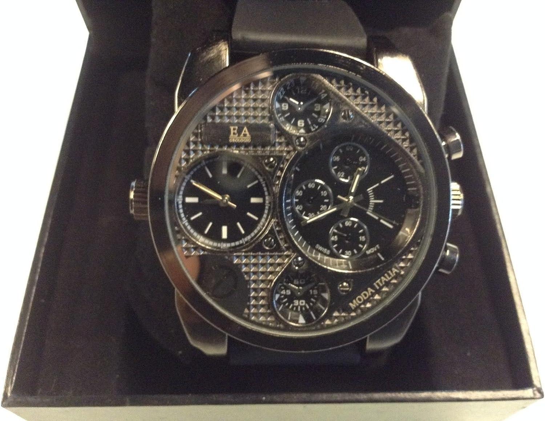 Ea Orologio Moda Italia Mens Watch Chronographe Swiss Made