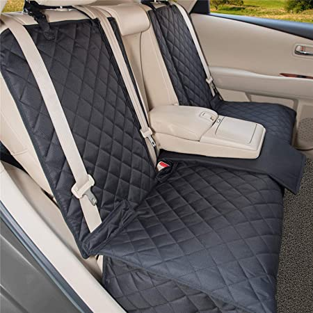 S Black tech automotive Water Resistant Front Seat Covers