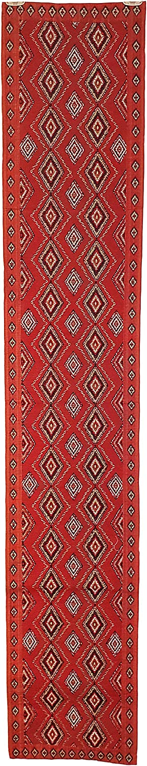 Diamond Native American Indian Abstract Woven Table Runner (13
