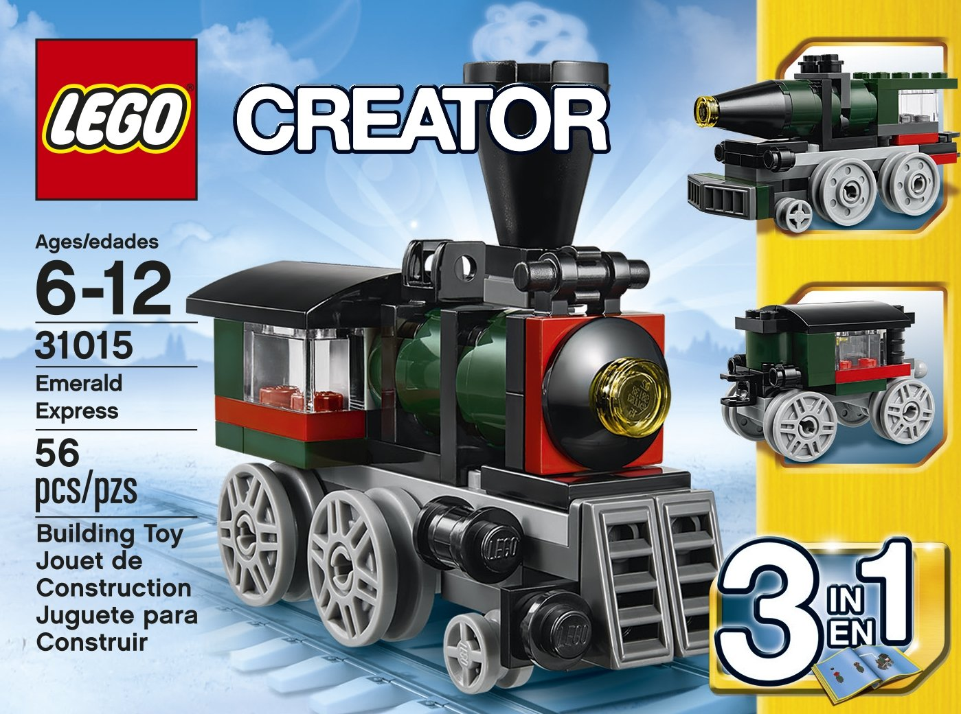 Amazon Lego Creator 31015 Emerald Express Discontinued By
