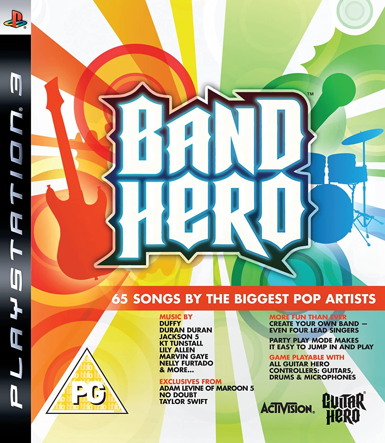 Band Hero - Game Only (PS3): Amazon co uk: PC & Video Games